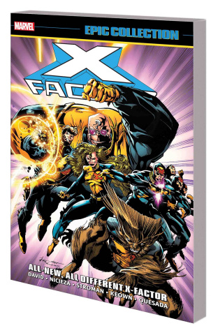 X-Factor: All-New All-Different X-Factor (Epic Collection)