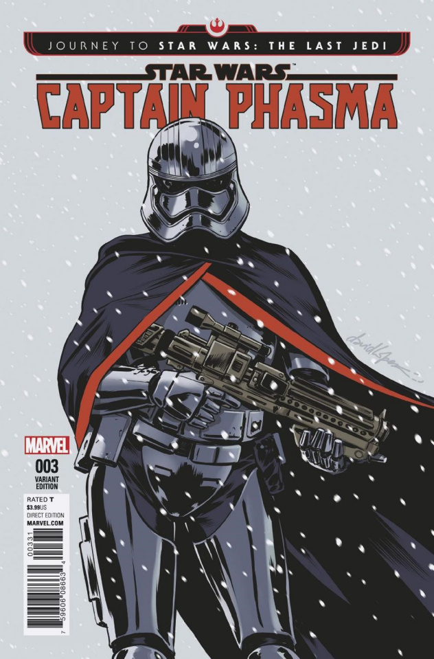 Journey to Star Wars: The Last Jedi - Captain Phasma #3 (Lopez Cover)