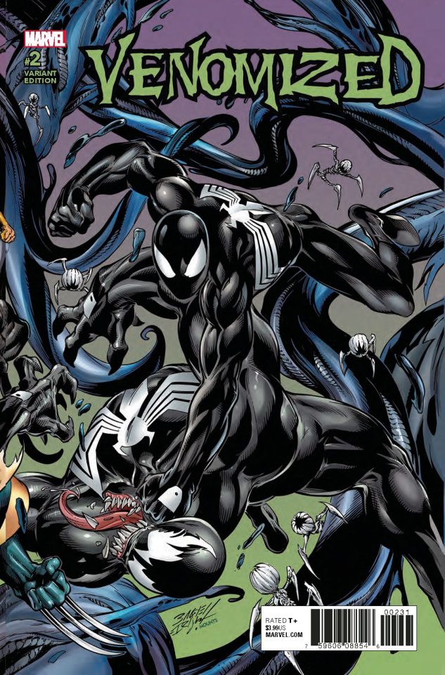 Venomized #2 (Bagley Connecting Cover)