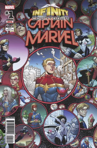 Infinity Countdown: Captain Marvel #1 (Olotegui 2nd Printing)