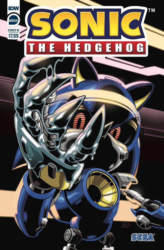 Sonic The Hedgehog Annual 2020 (10 Copy Yardley Cover)