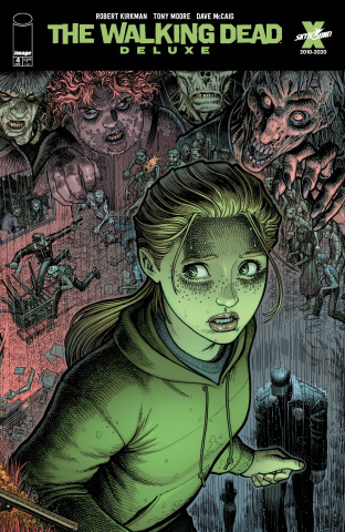 The Walking Dead Deluxe #4 (Adams & McCaig Cover)