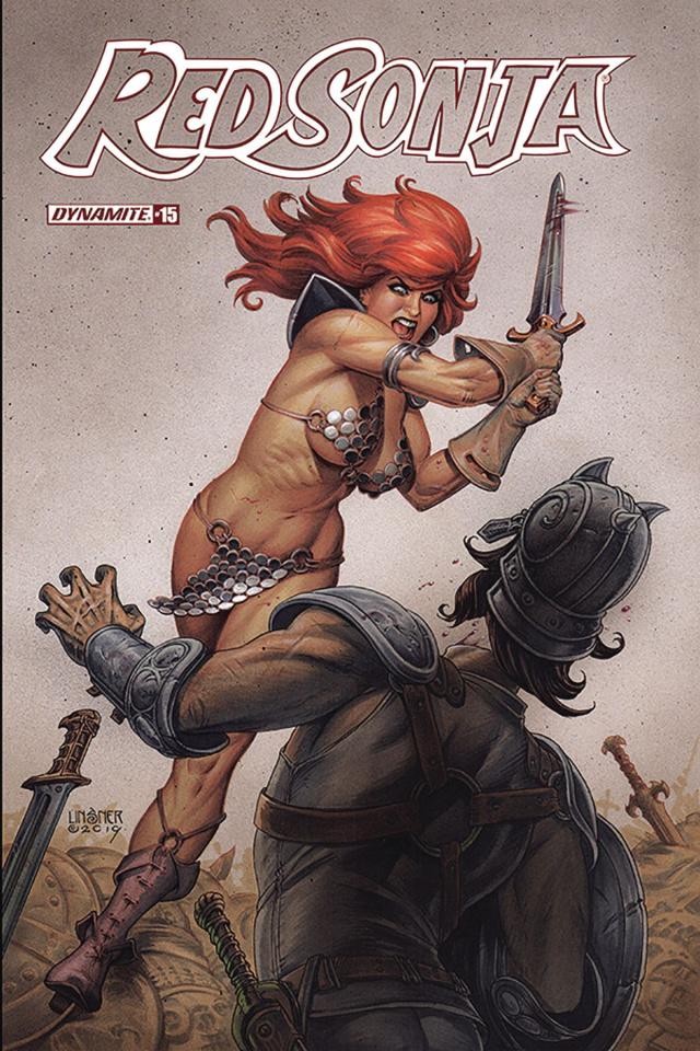 Red Sonja #15 (Linsner Cover)