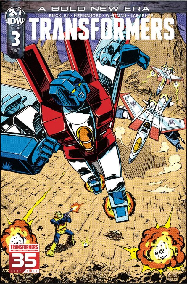 The Transformers #3 (10 Copy Guidi Cover)