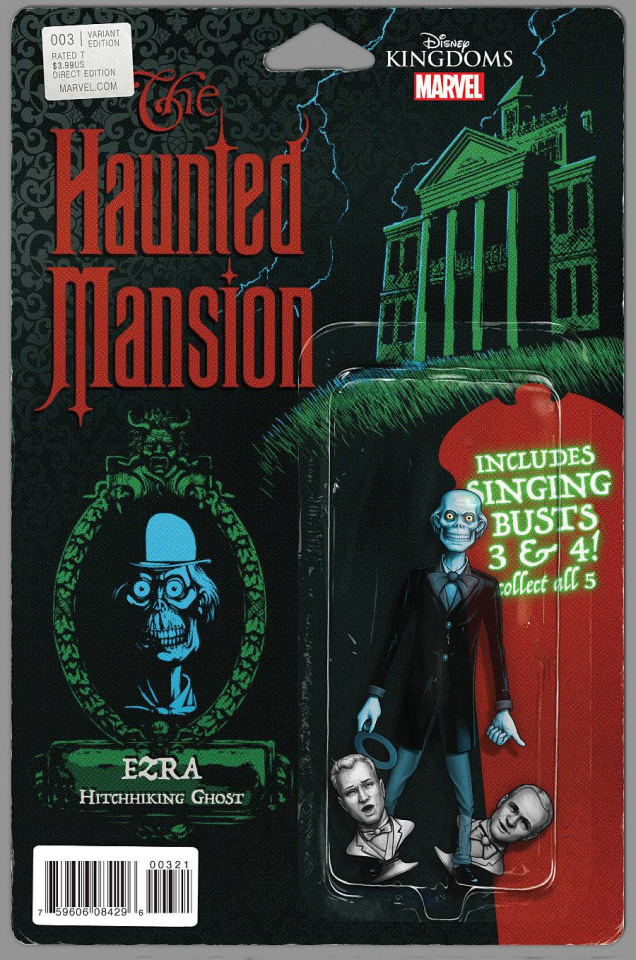 The Haunted Mansion #3 (Christopher Action Figure Cover)