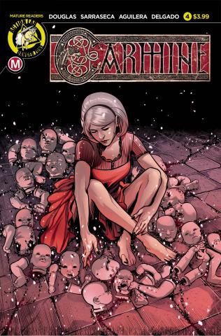 Carmine #4 (Sarraseca Cover)