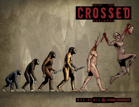 Crossed: Badlands #91 (Wrap Cover)