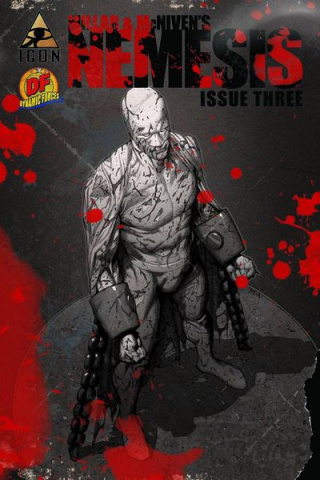 Nemesis #4 (Bloody & Beaten Cover)