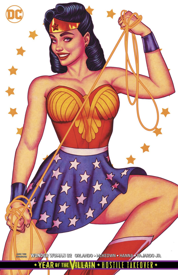 Wonder Woman #82 (Variant Cover)