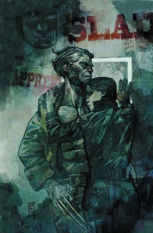 Captain America #8 (Maleev Wolverine Cover)