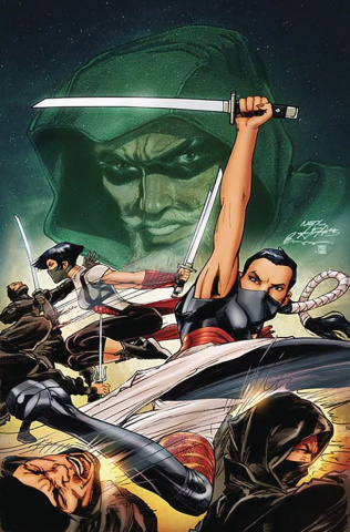Green Arrow #7 (Variant Cover)