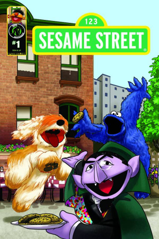 Sesame Street #1 (Imagination Cover B)