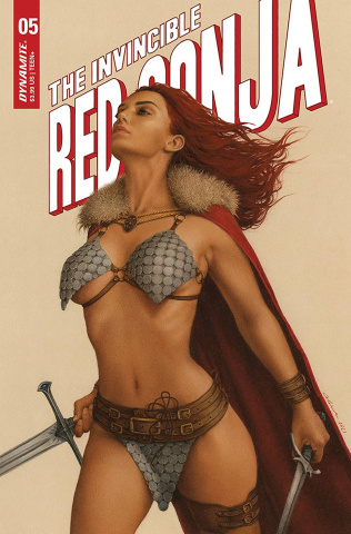 The Invincible Red Sonja #5 (Celina Cover)