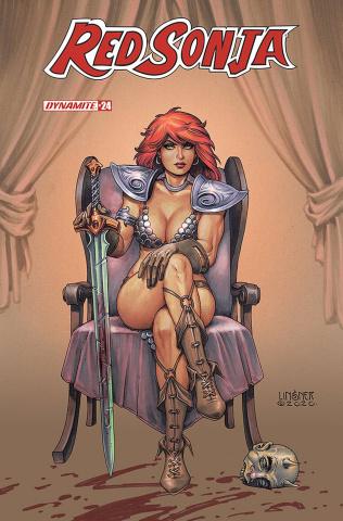Red Sonja #24 (Linsner Cover)
