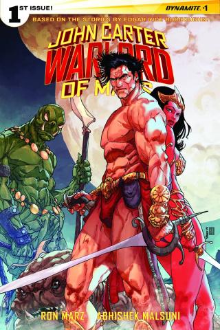 John Carter: Warlord of Mars #1 (Sears Cover)