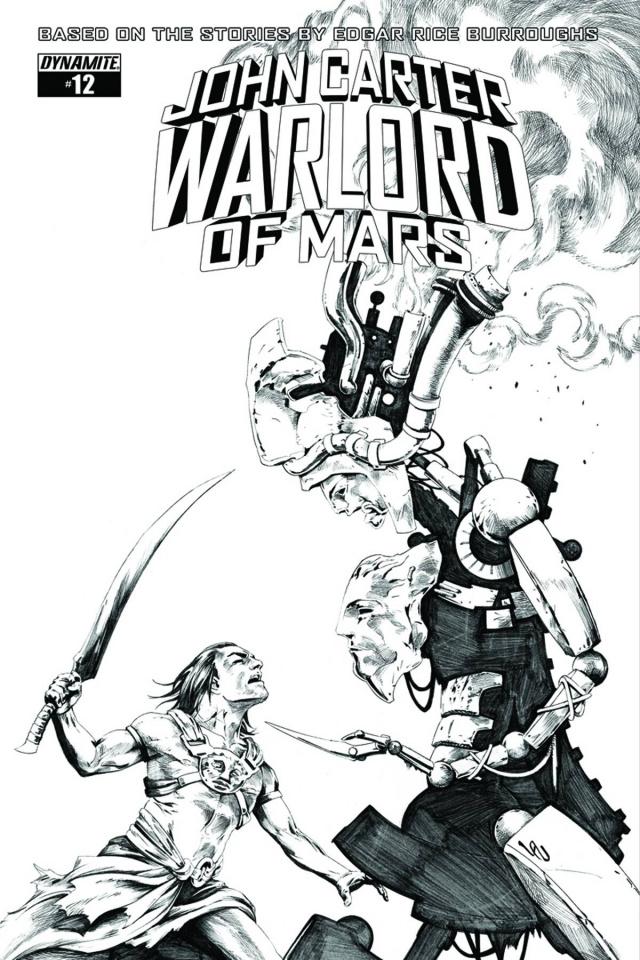 John Carter: Warlord of Mars #12 (20 Copy Lau Cover)