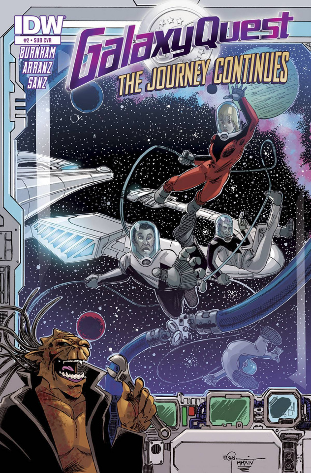 Galaxy Quest: The Journey Continues #2 (Subscription Cover)