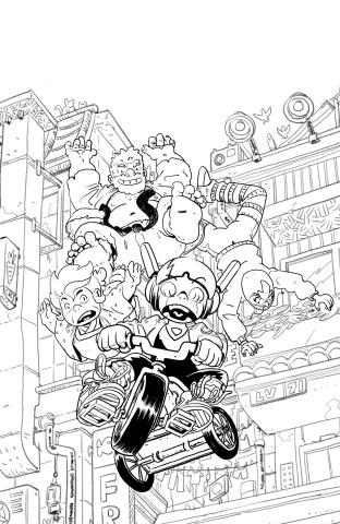 Skybound X #2 (10 Copy B&W Vuong & Kniivila Cover)