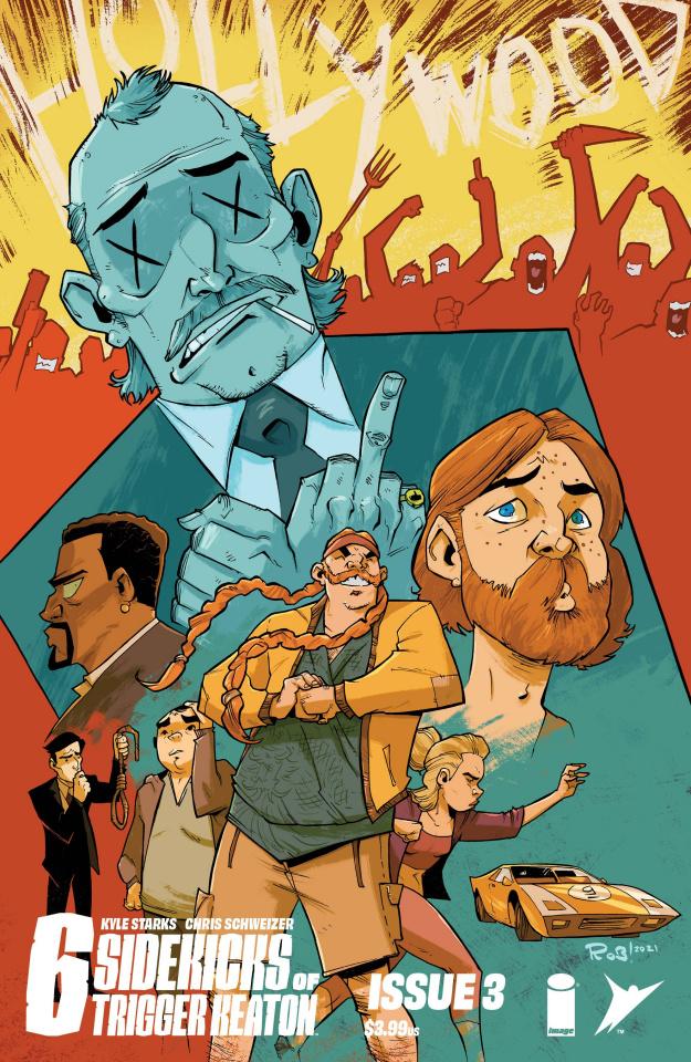 The Six Sidekicks of Trigger Keaton #3 (Guillory Cover)