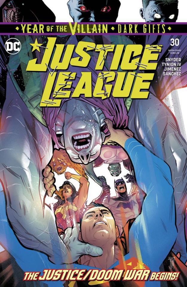Justice League #30 (Dark Gifts Cover)