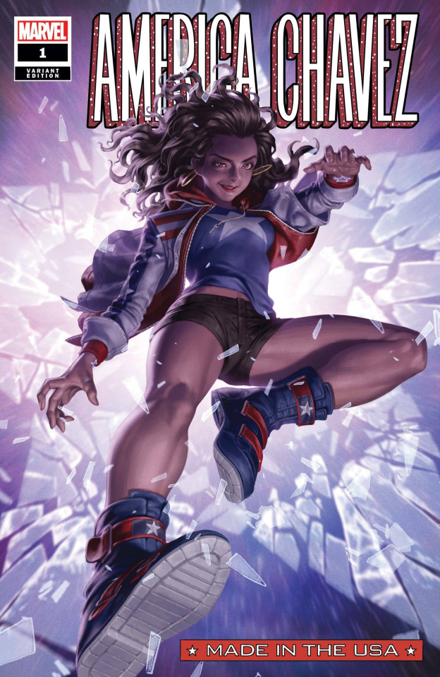 America Chavez: Made in the U.S.A. #1 (Yoon Cover)