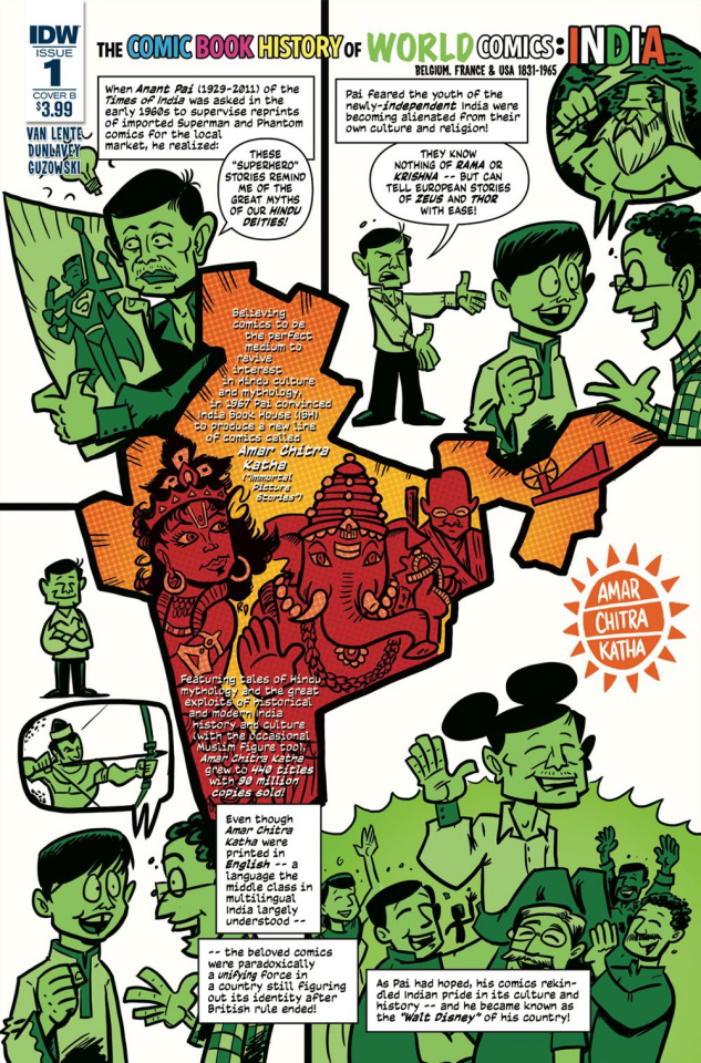 The Comic Book History of Comics: Comics For All #1 (Cover B)