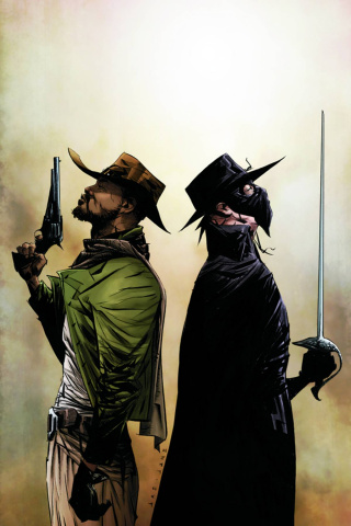 Django / Zorro #2 (Rare Lee Virgin Art Cover)