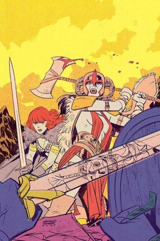 Vampirella / Red Sonja #10 (20 Copy Romero Virgin Cover)