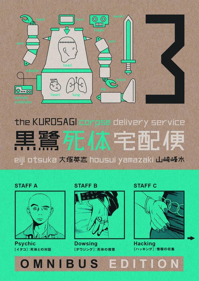 The Kurosagi Corpse Delivery Service Book 3 (Omnibus)