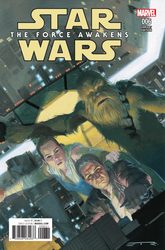 Star Wars: The Force Awakens #6 (Ribic Cover)