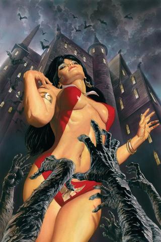 Vampirella #1 (Ross Virgin Cover)