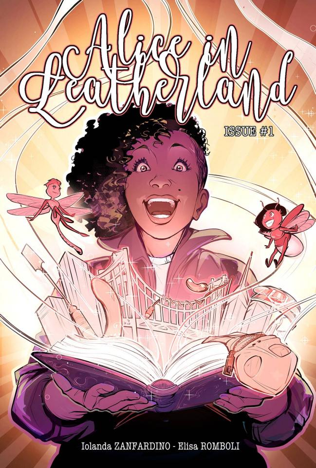 Alice in Leatherland #1 (Romboli Cover)