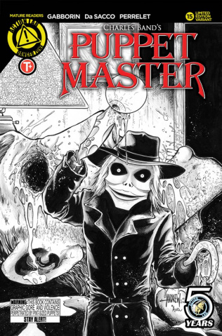Puppet Master #15 (Mangum Kill Sketch Cover)