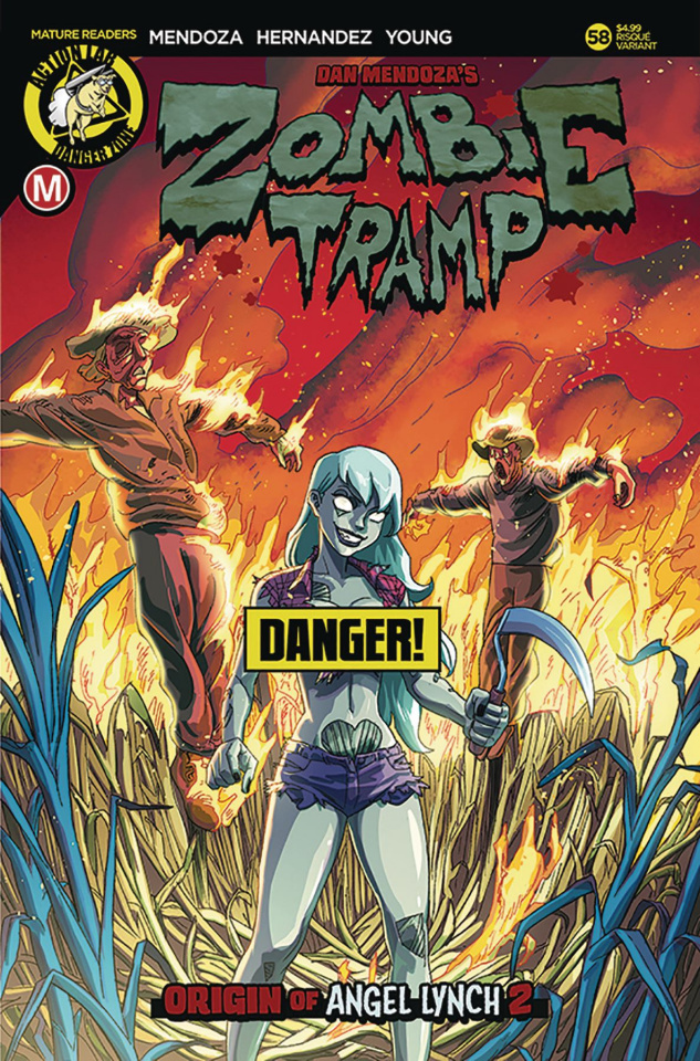 Zombie Tramp #58 (Young Risque Cover)