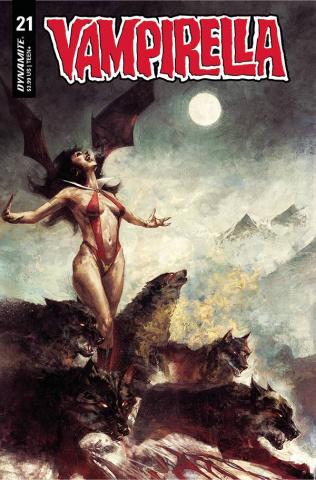 Vampirella #21 (Mastrazzo Cover)