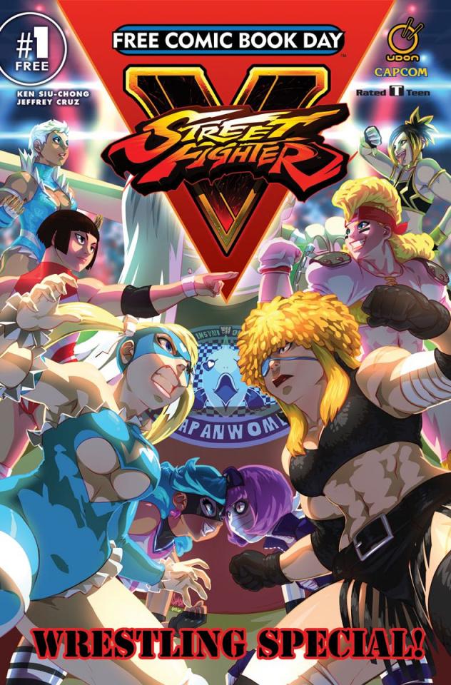 Street Fighter V: Wrestling Special!