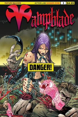 Vampblade #3 (Cheesecake Risque Cover)