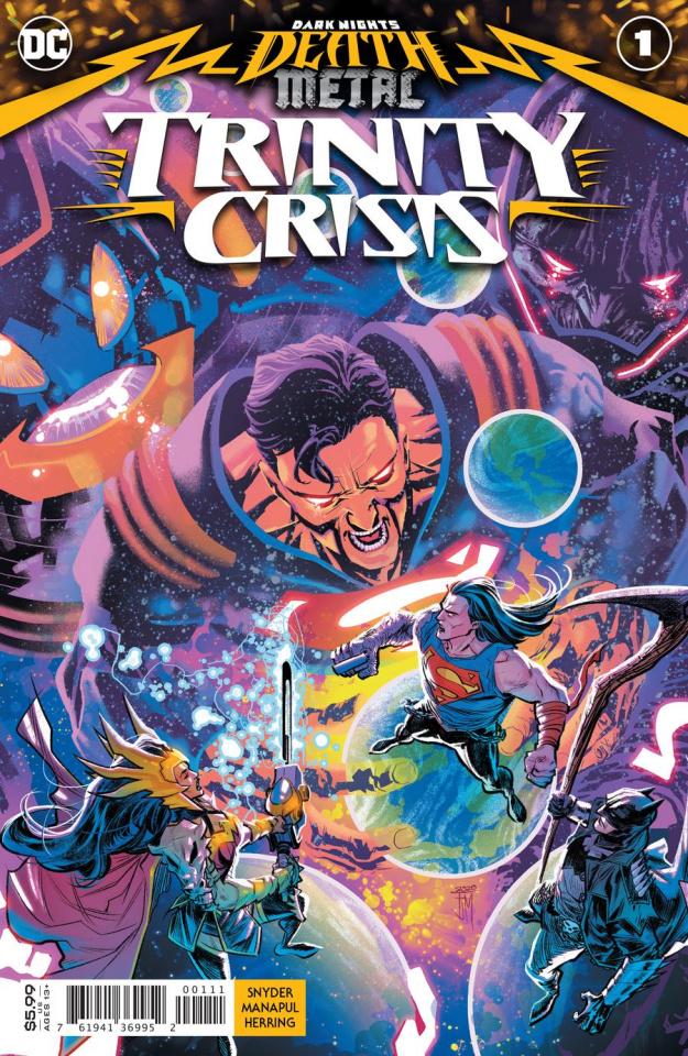 Dark Nights: Death Metal - Trinity Crisis #1 (Francis Manapul Cover)