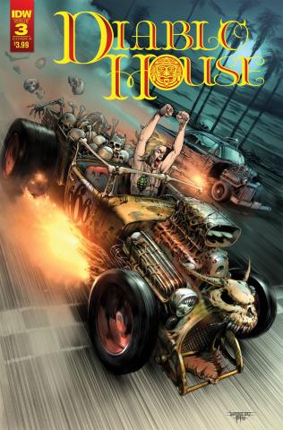 Diablo House #3 (Santiperez Cover)