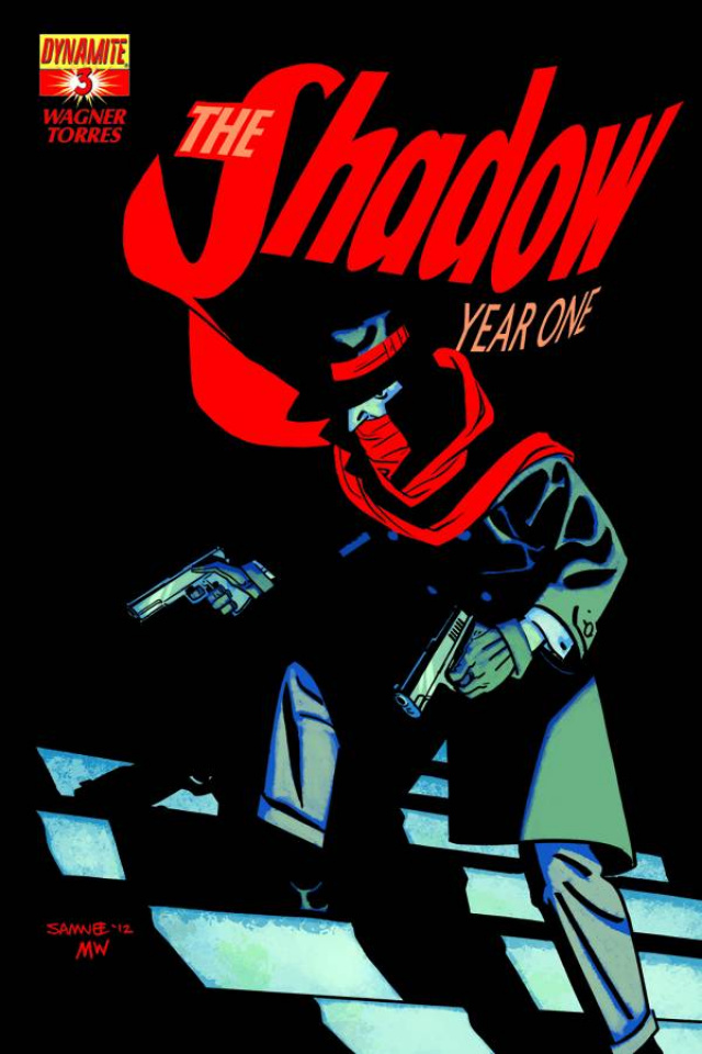 The Shadow: Year One #3 (Samnee Cover)