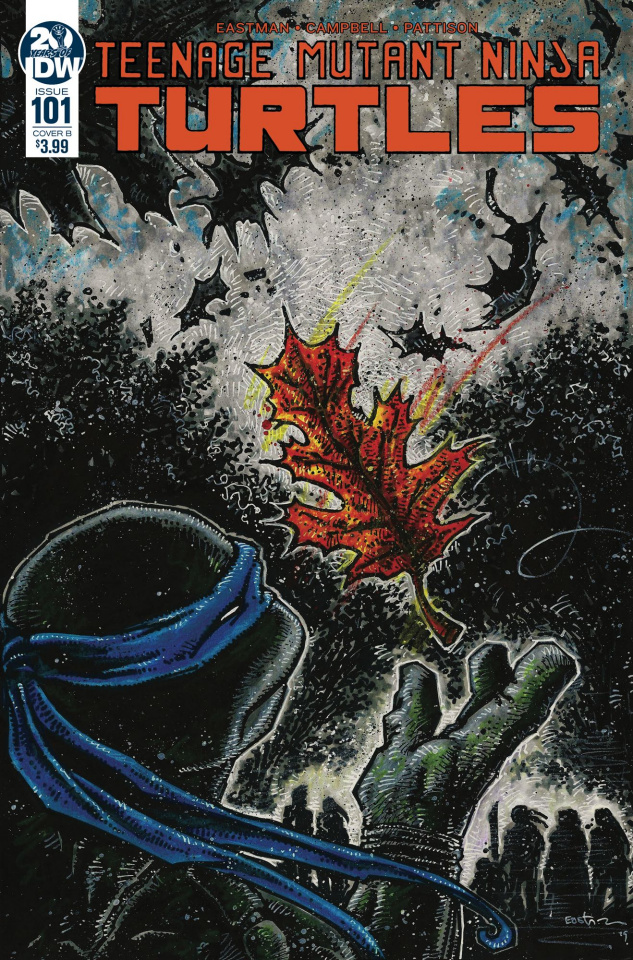 Teenage Mutant Ninja Turtles #101 (Eastman Cover)