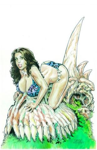Cavewoman: Mutation #2