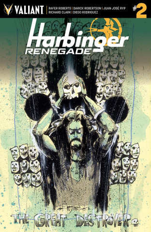 Harbinger: Renegade #2 (50 Copy Mahfood Cover)