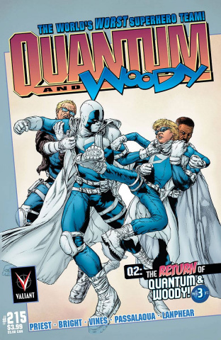 Q2: The Return of Quantum & Woody #3 (25 Copy Jimenez Cover)