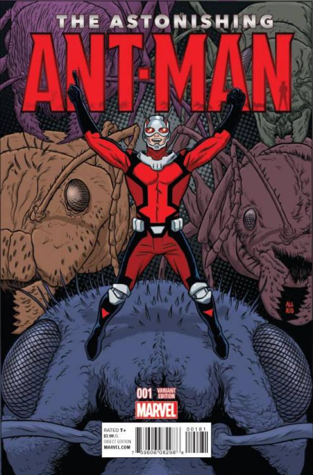 Astonishing Ant-Man #1 (Allred Cover)