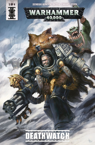 Warhammer 40,000: Deathwatch #1 (Svendson Cover)