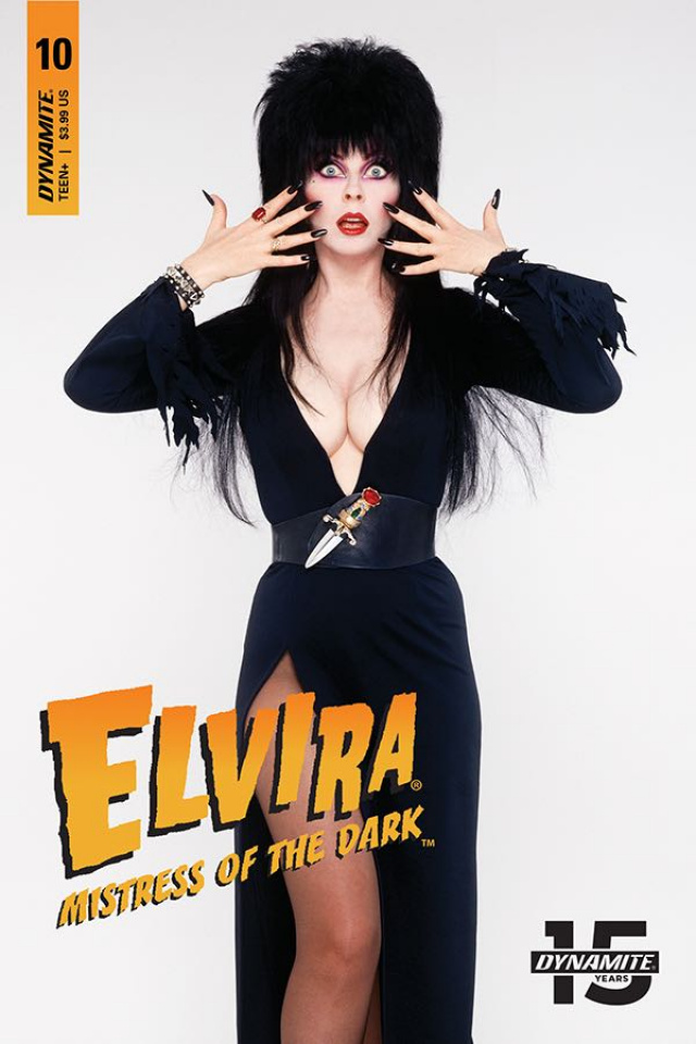 Elvira: Mistress of the Dark #10 (Photo Cover)