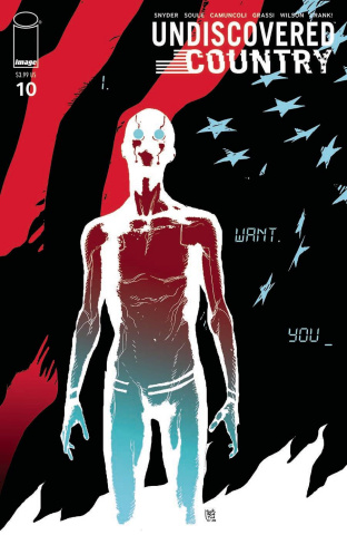 Undiscovered Country #10 (Sorrentino Cover)