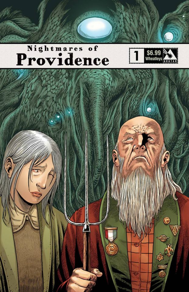Nightmares of Providence #1 (Wheatleys Cover)