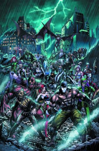 Forever Evil: The Arkham War #1